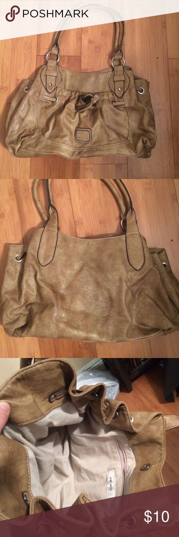 Nine West Purse Used once, no stains Nine West Bags Shoulder Bags