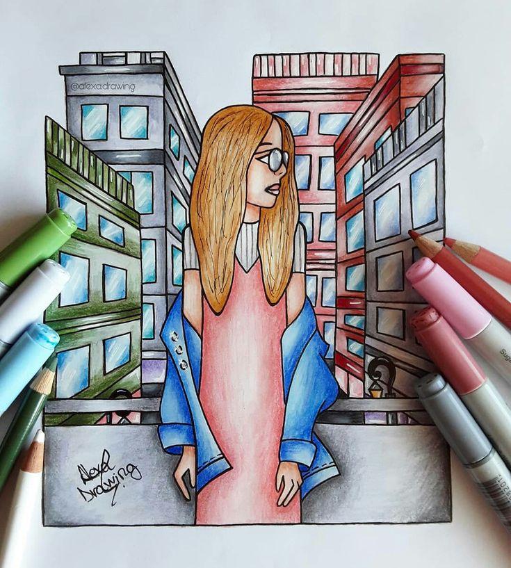 ~ New York City ♡ ~ by Alexa Drawing
