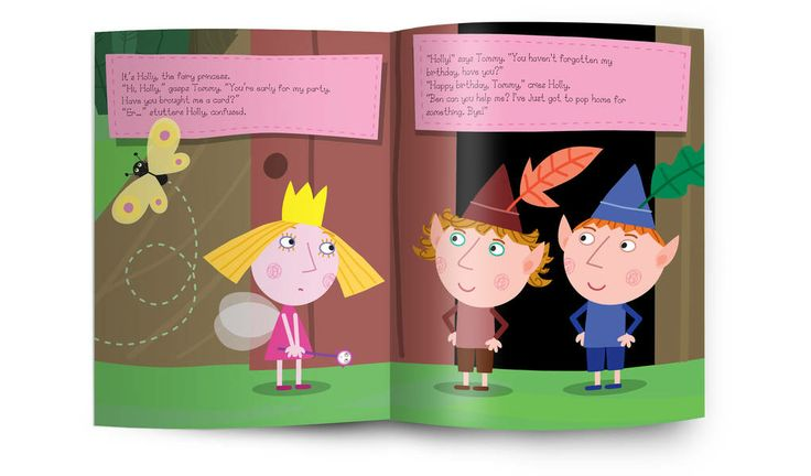 Personalised Childrens Books: Personalised Ben and Holly Book: Penwizard