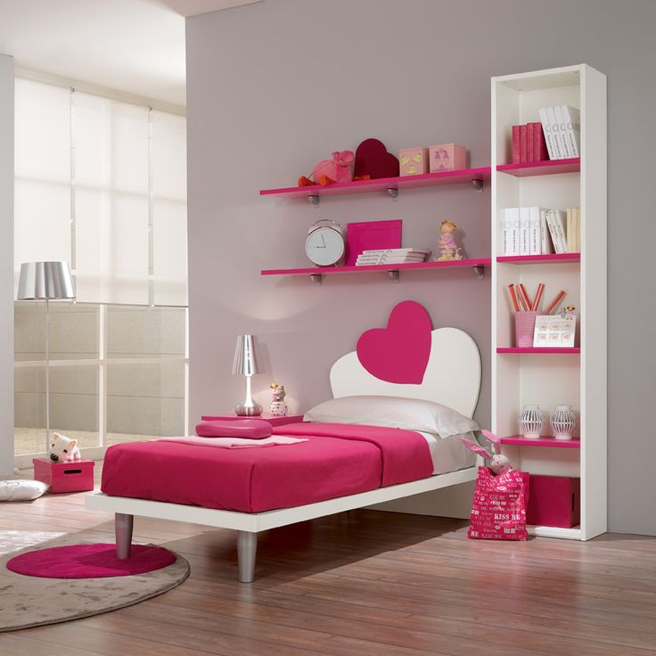 17 Best Ideas About Small Girls Bedrooms On Pinterest