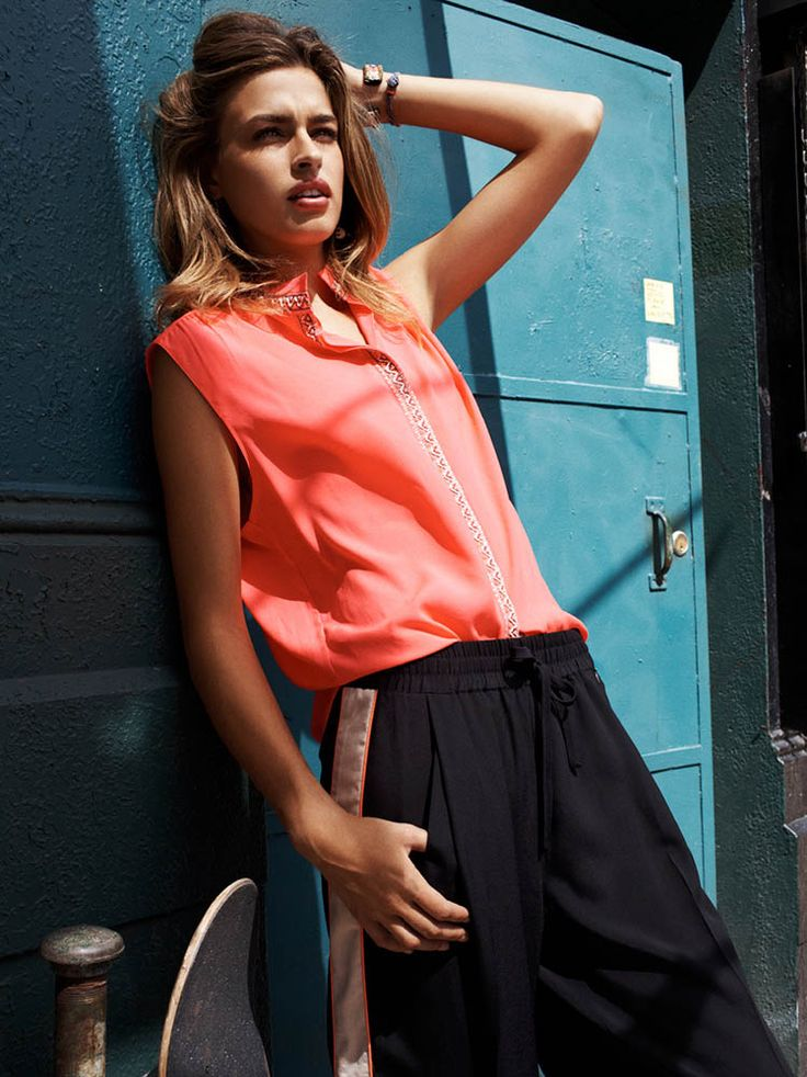 Abby Brothers Fronts Maison Scotch Summer 2013 Campaign   Fashion Gone Rogue: The Latest in Editorials and Campaigns