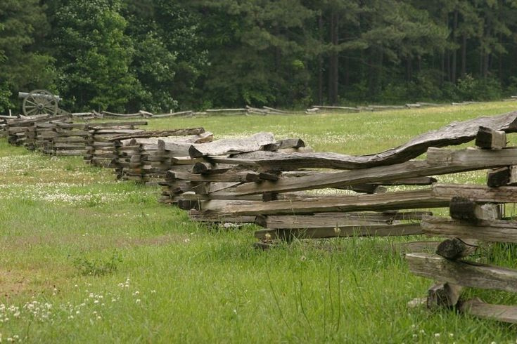 Snakerail Fence Revolutionary War To Civil War Staple Of