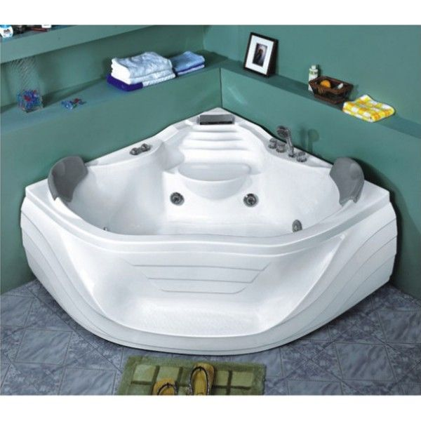 Saphire Corner Jacuzzi Bath | Best value jacuzzi baths in Ireland.  The Jacuzzis are made from a high grade acrylic and come complete with stainless steel frame. Flexishower and Pop-Up waste come as standard. Optional extras include air jets, heater, O3 self-cleaning system, light, digital control panel, radio,    3 year warranty comes as standard.