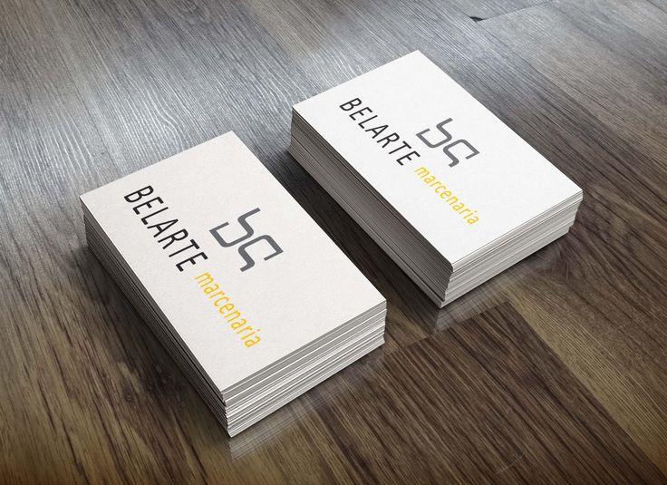 Desenvolvimento de cartões de visita para o cliente: Belarte …