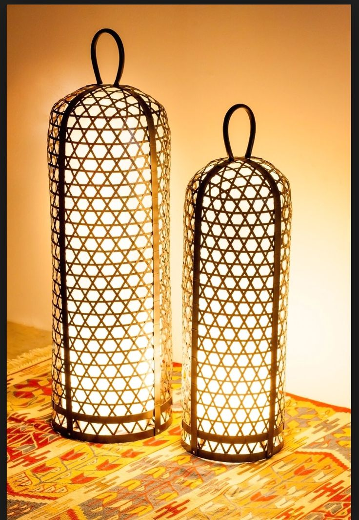 Awesome Bali Chicken Cage Inspired Lights Interior