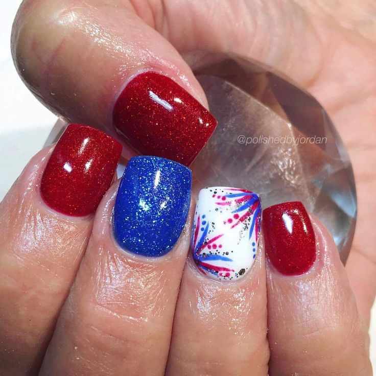 100+ Best 4th of July Nail Art Designs