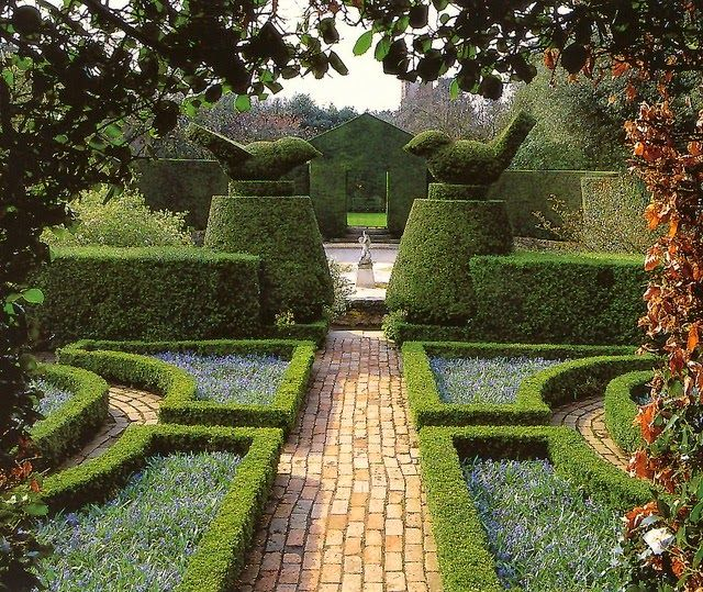 Hidcote, the first garden acquired by the National Trust and home of the late Lawrence Johnston.