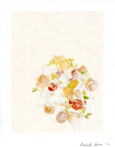 michelle armas: Paper Plane, Girls, Michelle Armas, Flower Prints, Art, Armas Flowers, Armas Girl, Armas Giveaway