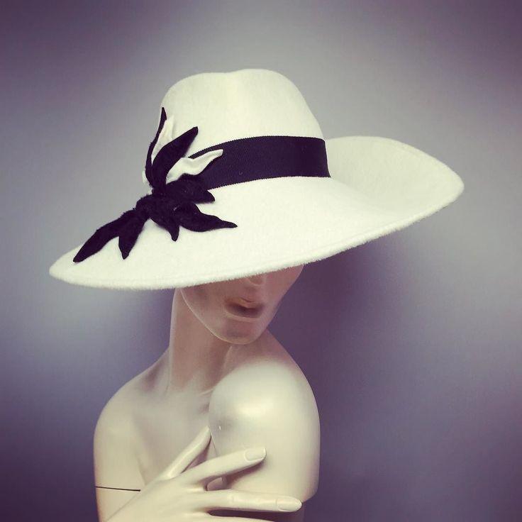 So pleased with this fantastic wide brim fedora....I've just placed it into the shop....who wants it ?!?! #veil #wedding #weddingveil #fascinatorwedding #toronto #daviddunkley #canada #davidhat #bridalfascinator #daviddunkleyhat #collections #kleinfeldcanada #events #fascinators #bride #fashion #queensplate #fashionblogger #custom #QP16 #blogTO #torontolife #hatlove #hats  #design #millinery by daviddunkleyhat