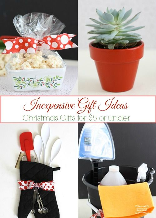Inexpensive Christmas Gift Ideas - $5 or less | Christmas ...