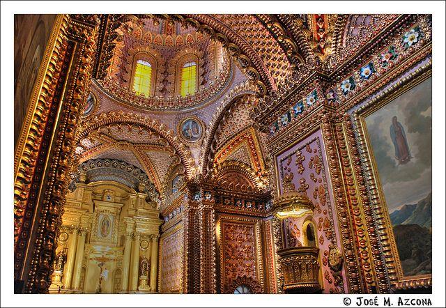 Mexico. Morelia. Templo de San Diego o Santuario Guadalupano (Interior).   Flickr - Photo Sharing!