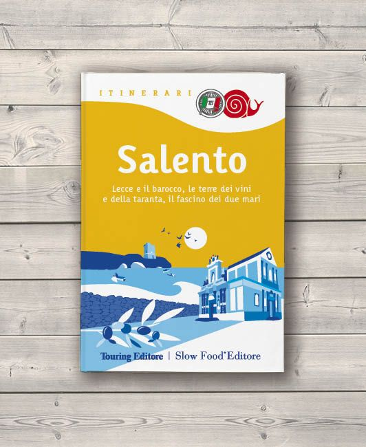 Cover restyling / Tourist guide / Touring Editore - SlowFood Editore