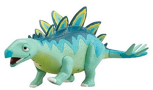dolcissimo questo dinosauro! Si chiama Morris e lo trovate solo su http://www.robedacartoon.it/sparsi-per-casa/giochi-e-giocattoli/il-treno-dei-dinosauri/dinosauro-morris-interattivo-21773.html
