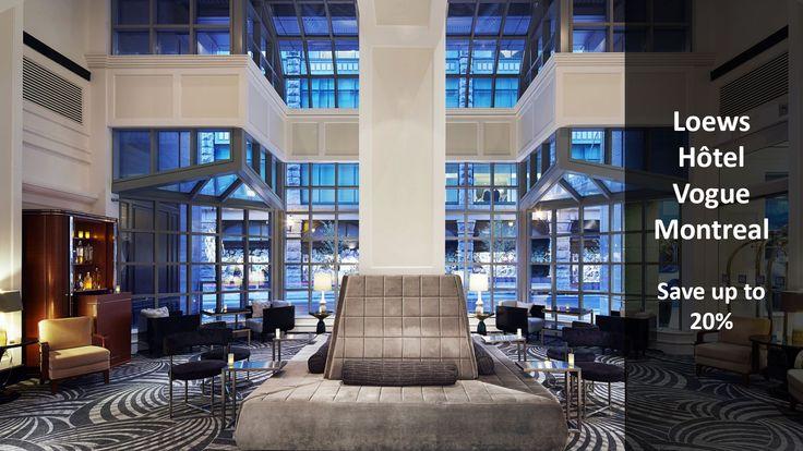 Loews Hôtel Vogue Montreal - Stay Longer, Save More - https://traveloni.com/vacation-deals/loews-hotel-vogue-montreal-stay-longer-save/ #vacation #canada #montreal