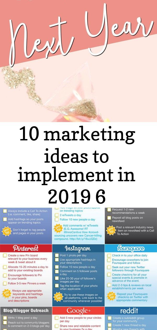 10 Marketing Ideas To Implement In 2019 6 Marketing Trends Email Marketing Strategy Marketing