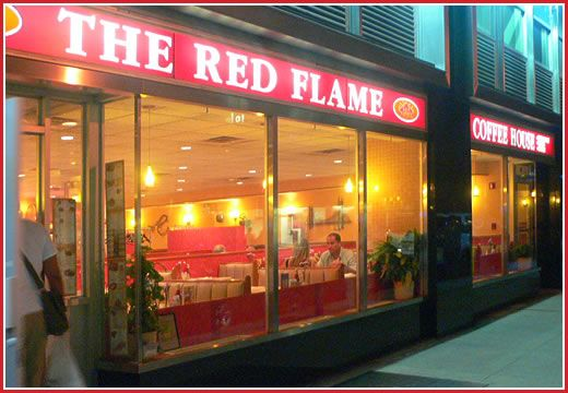 The REd Flame 67 West 44th ST. New York New York 10036  Can order off regular menu...will have special thanksgiving package but can order anything.  No reservations needed after parade.  Very nice...she said not real busy...considered top three diner's on yelp in midtown