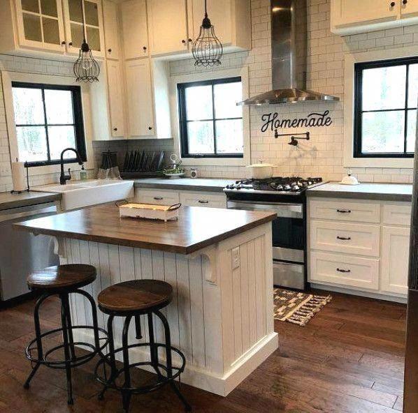 Farmhousekitchen In 2020 Farmhouse Kitchen Design Kitchen Style Kitchen Backsplash Designs