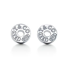 Classic, and I love them. Tiffany 1837™ circle earrings in sterling silver.