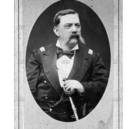 """TENIENTE CORONEL EMETERIO LETELIER SALAMANCA Curepto, (1832-?).  En 1846 ingresó a la Escuela Militar. Luchó en las guerras civiles de 1851 y de 1859. Participó en las campañas de la Araucanía y en la guerra contra España.  En 1866 se retiró del ejército. Al estallar la guerra del Pacífico se reincorporó al ejército. El 4 de agosto de 1879 fue nombrado Comandante y organizador del Escuadrón """"Carabineros de Yungay"""" N.º 2 y el 15 de octubre de 1880 fue nombrado Comandante General de…"""