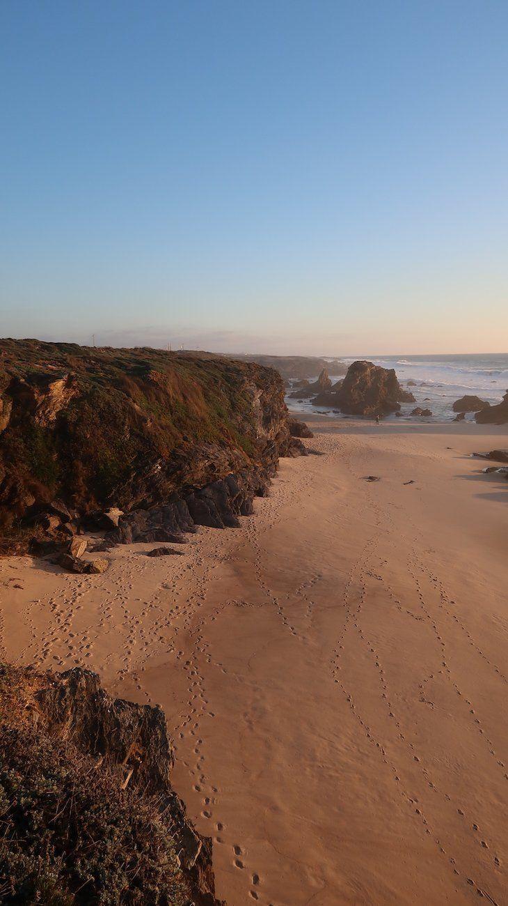 Praia Da Samoqueira Sines Alentejo Portugal Alentejo