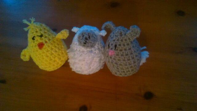 Easter crochet. 2015