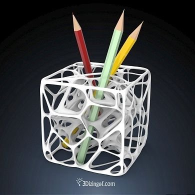 3d printed pencil holder 3d is fun pinterest pencil 3d printer design software