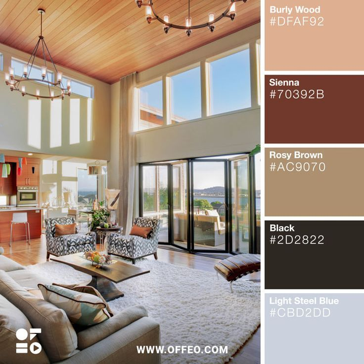 20 Modern Home Color Palettes To Inspire You Color Combinations