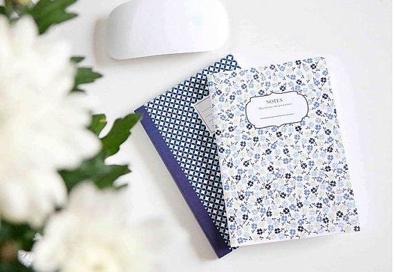 Notebook Journal Inspire Collection by ClaraMatse on Etsy