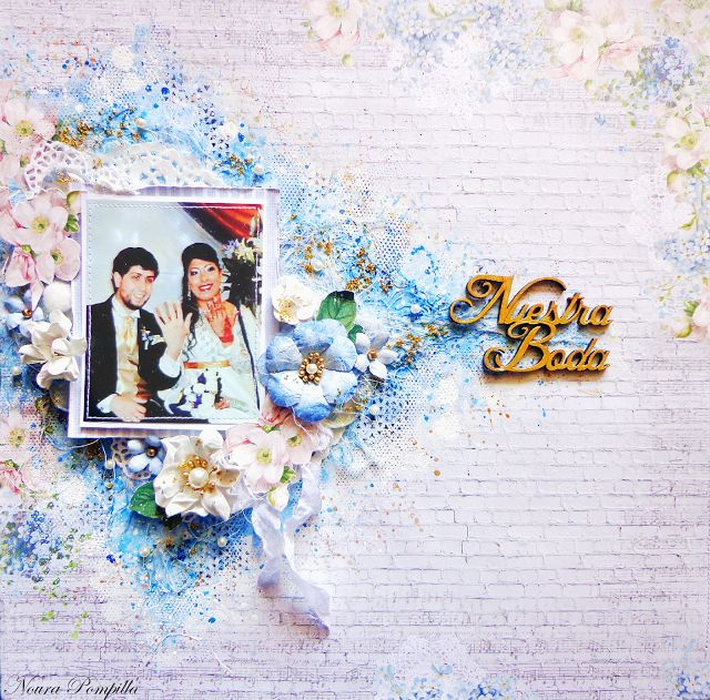 Layout special moments by Noura Pompilla
