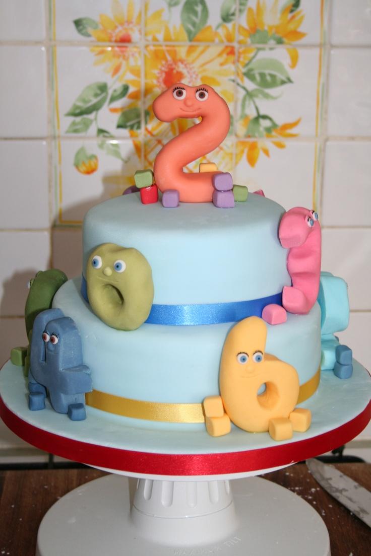 Numberjacks Cake