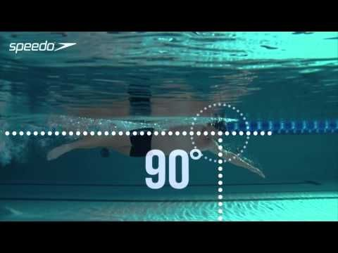 Freestyle Swimming Technique - Body Positioning. Produced with an elite swim coach and filmed in slow motion to help you improve your freestyle body positioning. Get faster, fitter, stronger at the pool. #getspeedofit