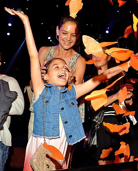 Life of the party! Katie Holmes treated her daughter Suri Cruise to a fun night out at the 2015 Nickelodeon Kids' Choice Awards, where they rubbed shoulders with the likes of Angelina Jolie, Shiloh and Zahara Jolie-Pitt, Nick Jonas, and Jennifer Lopez.