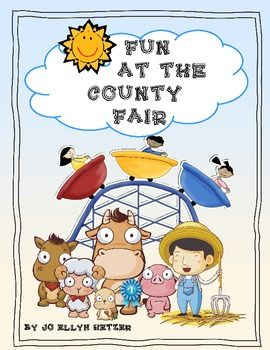 Yee-Haw!! It's time to make our way to the county fair!This mini unit is perfect for summer school programs, beginning of the year and the en...