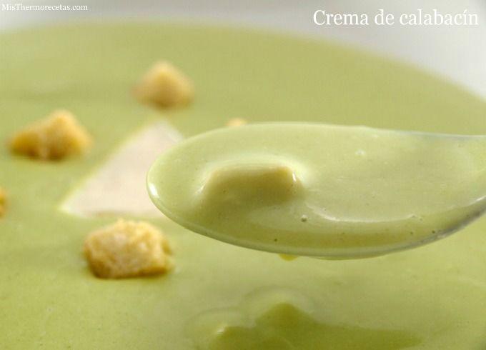 Crema de calabacín - MisThermorecetas.com