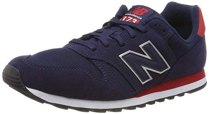 New Balance 373 Core Sneakers Herren Blau/Rot | New balance ...