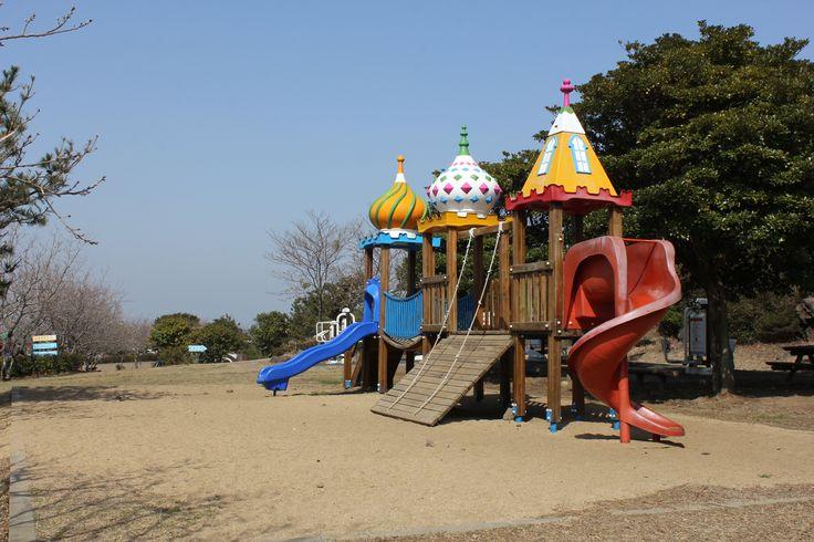 모구리 야영장  어린이 놀이시설