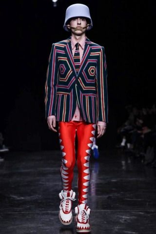 Lou Stoppard reports on the Walter Van Beirendonck show - Walter Van Beirendonck @ Paris Menswear A/W 2014 - SHOWstudio - The Home of Fashio...