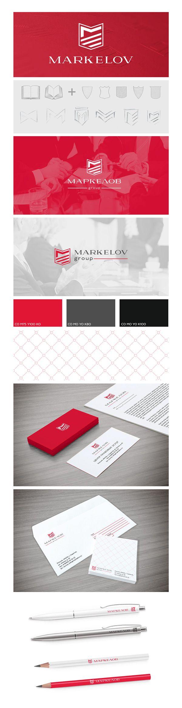 Branding/Corporate Identity Markelov group  - Lawyers