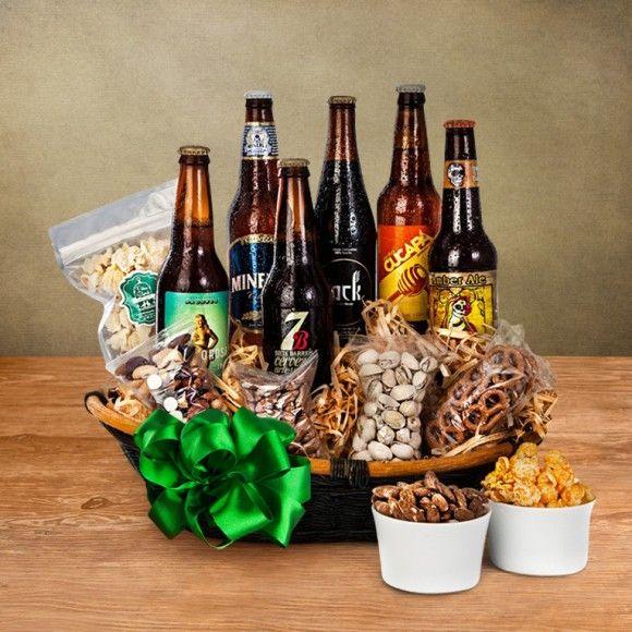 canastas navideñas y arcones navideños de cervezas artesanales mexicanas