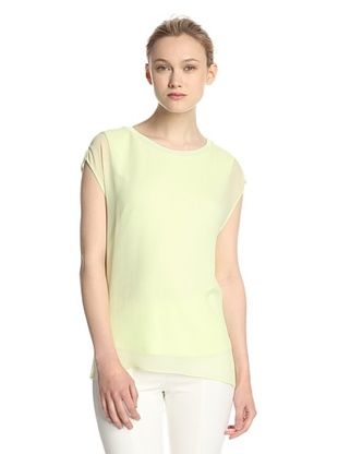 50% OFF Elie Tahari Women's Rachelle Blouse (Mint Foam)