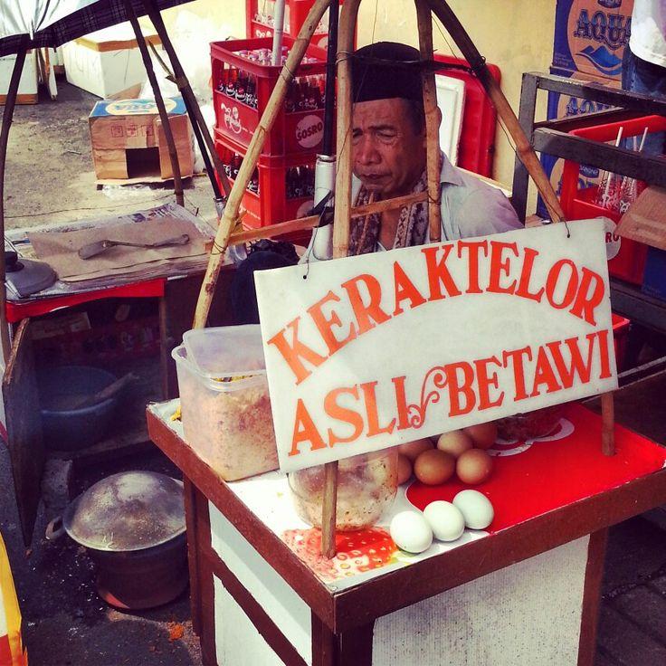 Kerak Telor, Betawi street food