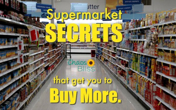 Supermarket Secrets That Get You to Spend More ~ Ardan News