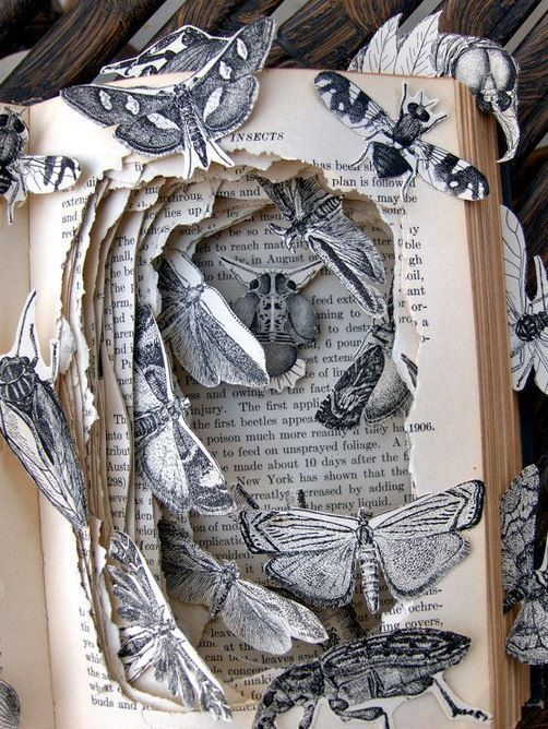 Top 10 Amazing Book Sculptures by Kelly Campbell -…