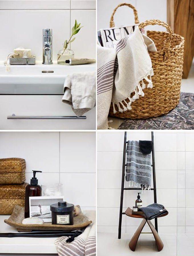 STIL INSPIRATION: How to style your plain white bathroom