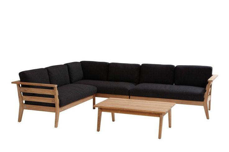 Loungeset Polo   Teakhout   Modulair   4 Seasons Outdoor   Stel uw eigen loungeset samen