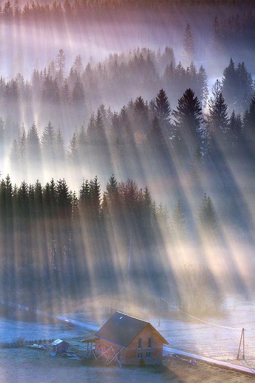 Sun Rays, Poland, by Marcin Sobas, on 500px.