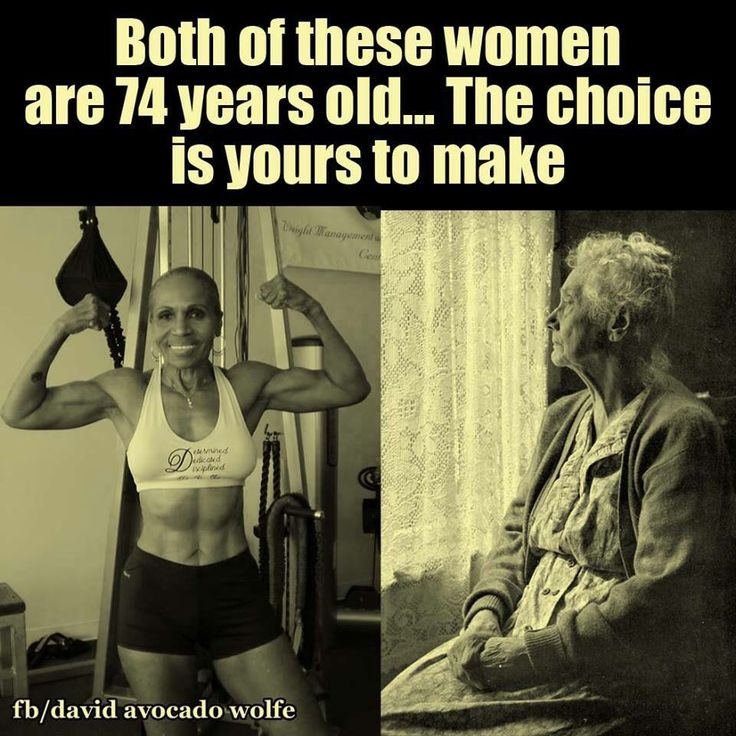 This is a few years old. The woman on the left is 80 now and just broke a record for oldest female body builder