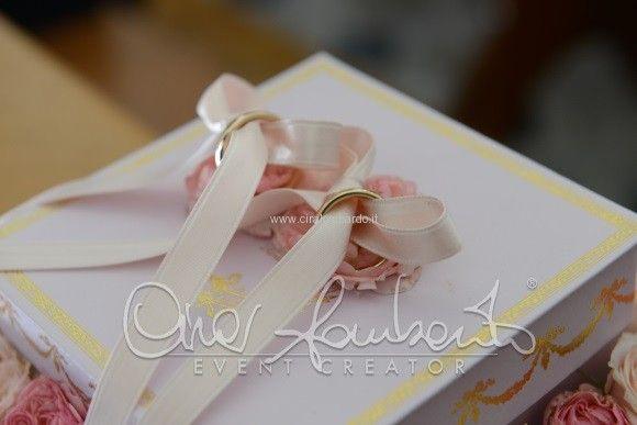 Portafedi romantico originato dall'eleganza delle rose inglesi e dalla raffinatezza delle scatole di Ladurée
