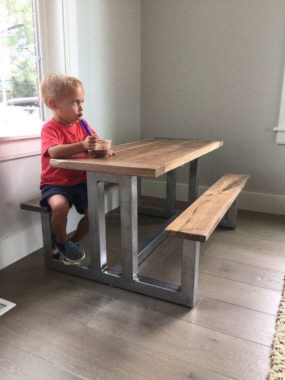 50 Trendy Reclaimed Wood Furniture And Decor Ideas For Living Green Kids Picnic TableMetal