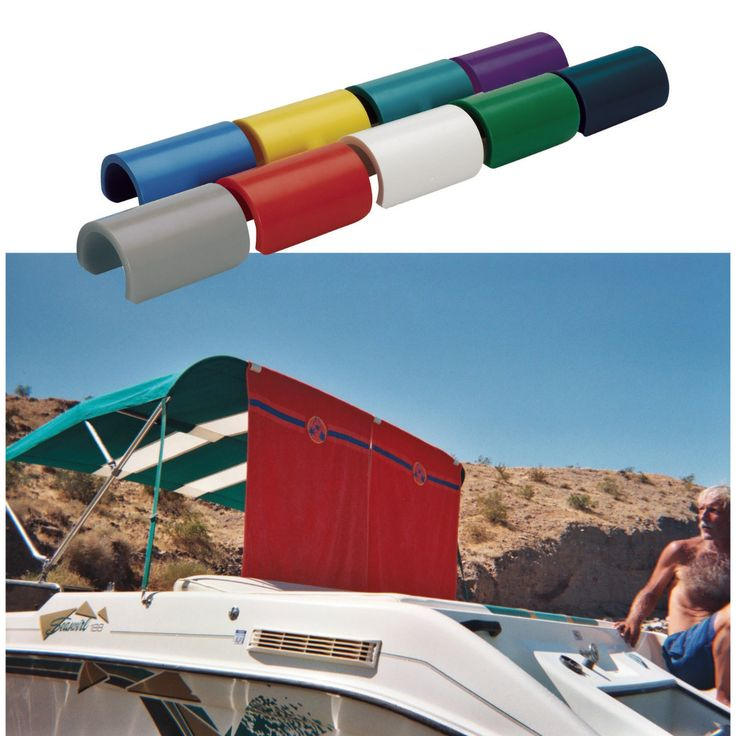 Overton's : Round Bimini Top Biminiclip 6-pack - Boating & Marine > Bimini Tops T-Tops & Shades > Bimini Top Hardware & Accessories : Boat Bimini Tops, Pontoon Bimini Tops, Shades, T-Tops, & Hardware | Shop online